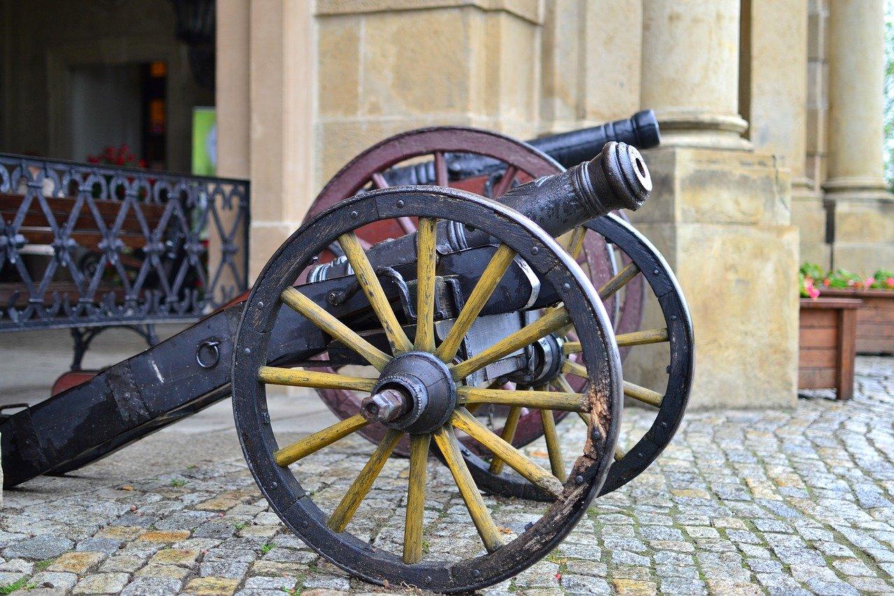 Antieke kanonnen