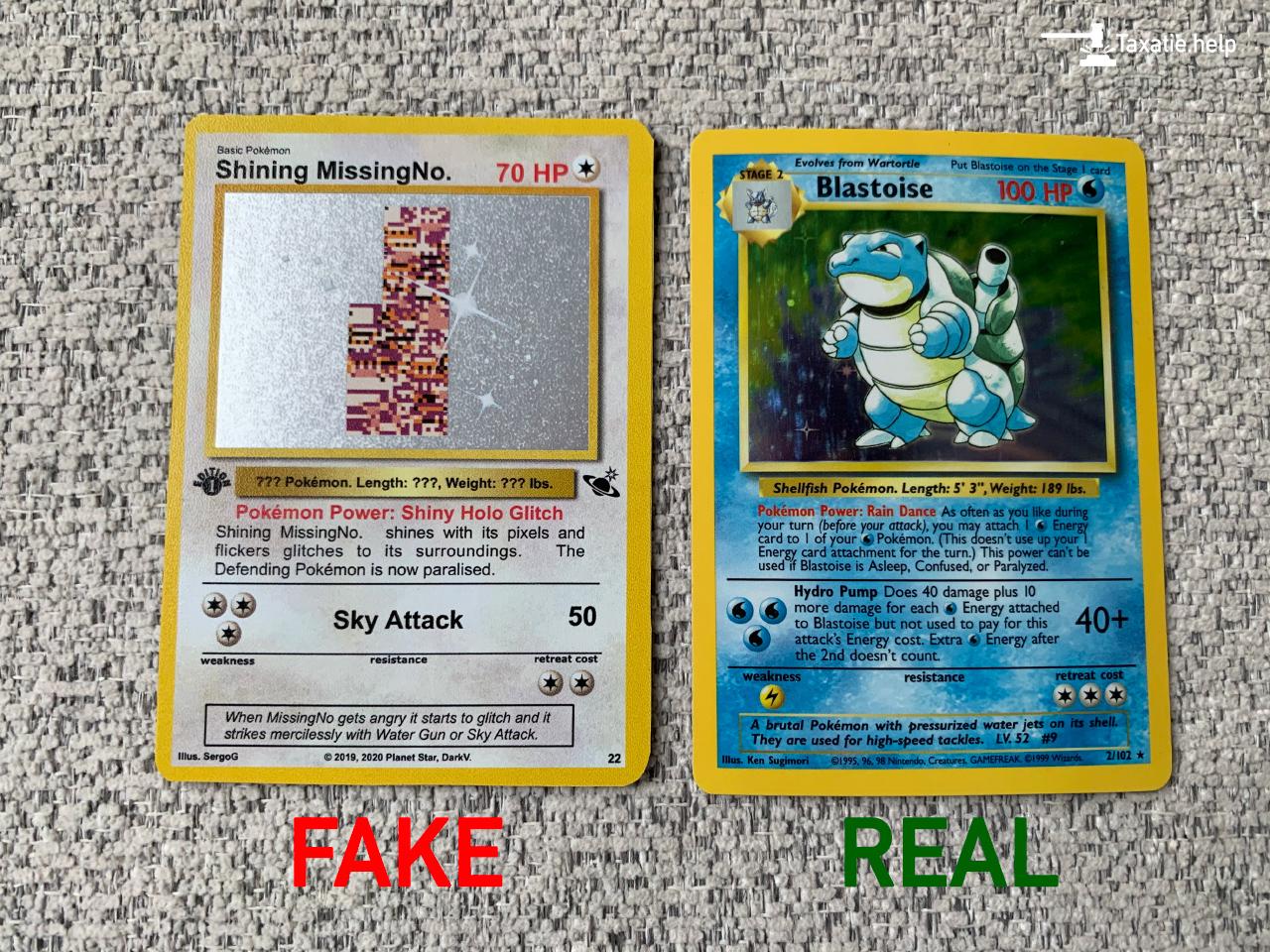 Neppe Pokémon kaarten